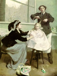 the first haircut by betty maude christian fagan