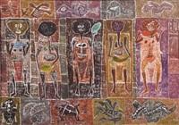 figuras de la tierra by leonidas gambartes
