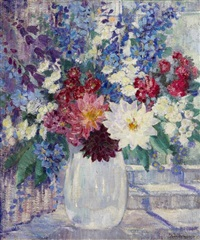 still life with flowers by jane peterson