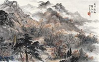 香山秋雨 (autumm rain) by xu beiting