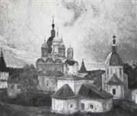 monastère russe by igor soldatenkov