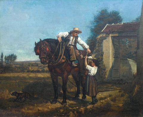 the ploughmans lunch by charles edouard frère