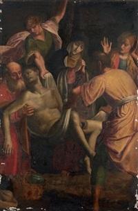 la descente de croix by sisto badalocchio