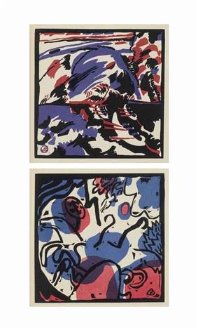 klänge portfolio of 56 by wassily kandinsky