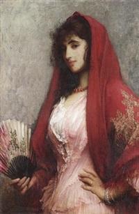 a spanish beauty by sir samuel luke fildes