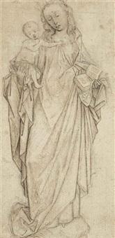 vierge à l'enfant by flemish school (15)