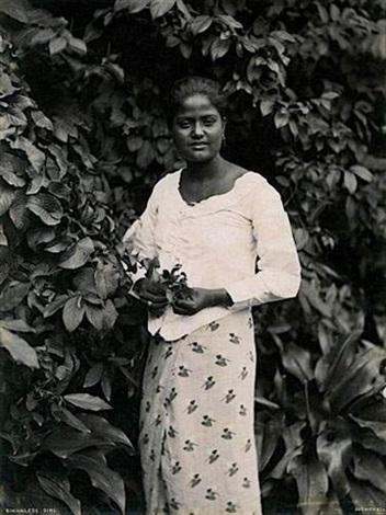 sinhalese girl by charles t scowen scowen co