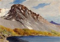 le lac rond et la grande casse au col de la vanoise by emile veron