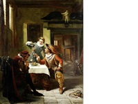 in the tavern by charles meer webb