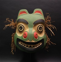tingit bear mask by tony hunt