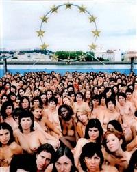 france 3 (biennale de lyon) by spencer tunick