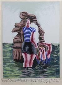 les baigneuses by jean lurçat