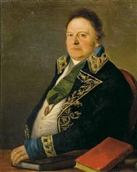 d. zacarias scherman, consul general del rey de suecia by antonio mercar
