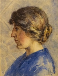 portrait of may kenyon by frances mary hodgkins