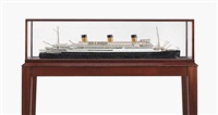 model of s.s.l'atlantique by wenman joseph bassett-lowke