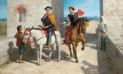 motiv aus dem leben des christopher columbus die neue welt im westen für spanien oder für england by john rogers herbert