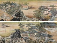 春来天地图 (12 works) by dai wuxin