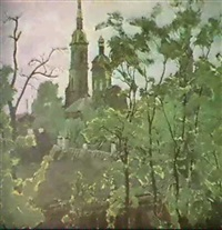 la forteresse pierre et paul by victor korovin