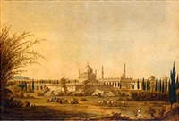 views in mysore (2 works) by robert hyde colebrooke