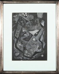 kompozycja czarna by maria ewa lunkiewicz-rogoyska