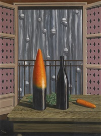 l'explication by rené magritte