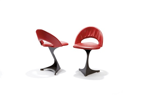pair of chairs by santiago calatrava