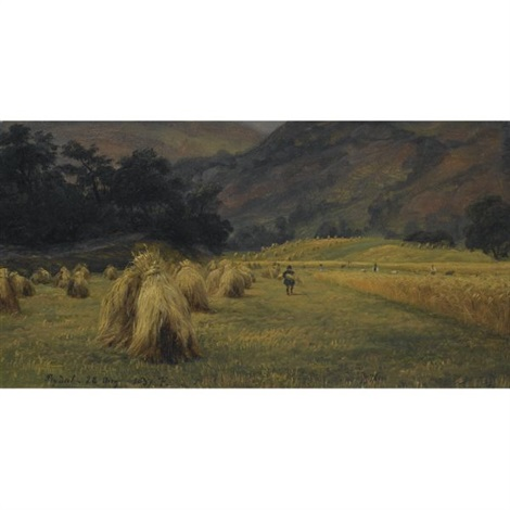 høystakker rydal cumbria haystacks rydal cumbria by thomas fearnley