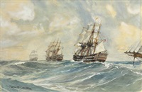 ships of the line by montague dawson