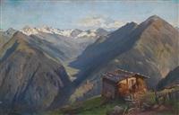 hochalmhütte in den zillertaler alpen by joseph rummelspacher