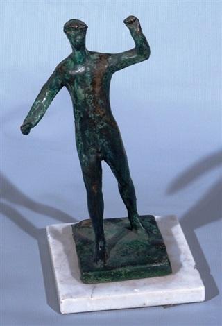 el boxeador by lucio fontana
