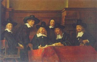 the staalmeesters by johannes van der linde