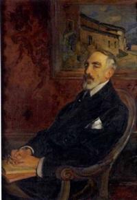 portrait d'homme by eugène narbonne