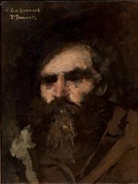 portrait de georges de dramard by léon joseph florentin bonnat