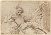 taste (from the series the five senses) by benjamin west
