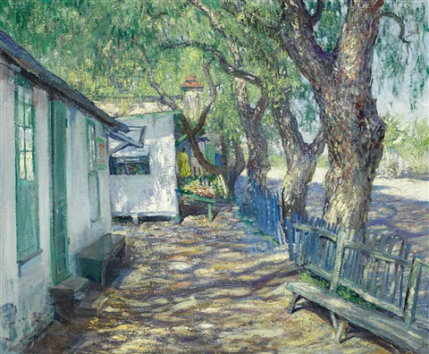 san gabriel road by guy rose