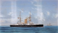 navire de guerre mixte anglais by de simone