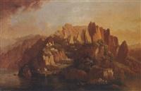 a mediterranean island, ischia (?) by hellen melville