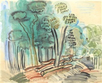 les arbres by raoul dufy