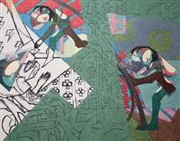 (un) done paintings by ahmet onay akbas