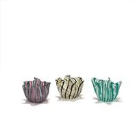 drei kleine vasen fazzoletto a canne by fulvio bianconi