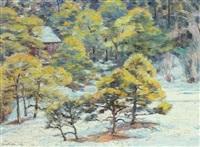 landscape by oka tsunetsugu