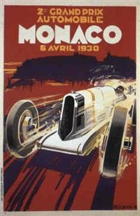 monaco grand prix 1930 by posters: sports - monaco grand prix