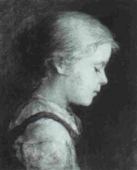 mädchenbildnis by minna elizabeth roberth