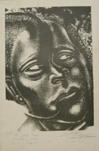 negrito by david alfaro siqueiros