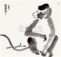 猴 by xu pengfei