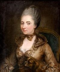 monsieur bouchard et son épouse, née elisabeth de morlet (pair) by anna dorothea lisiewski