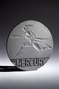emblem for new york central's the mercury train by john amore