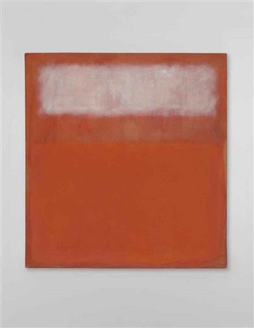 white cloud by mark rothko