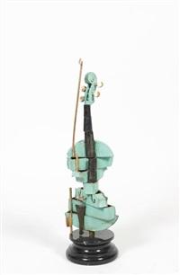 violon spirale by arman