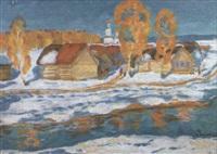 l'entree au village by victor smirnov